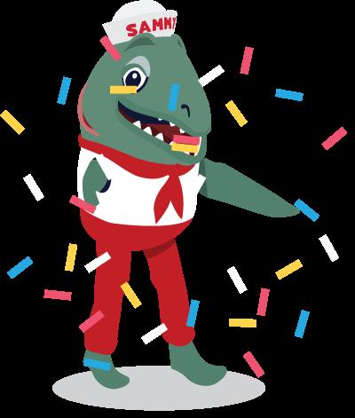 Canada Day Richmond Mascot