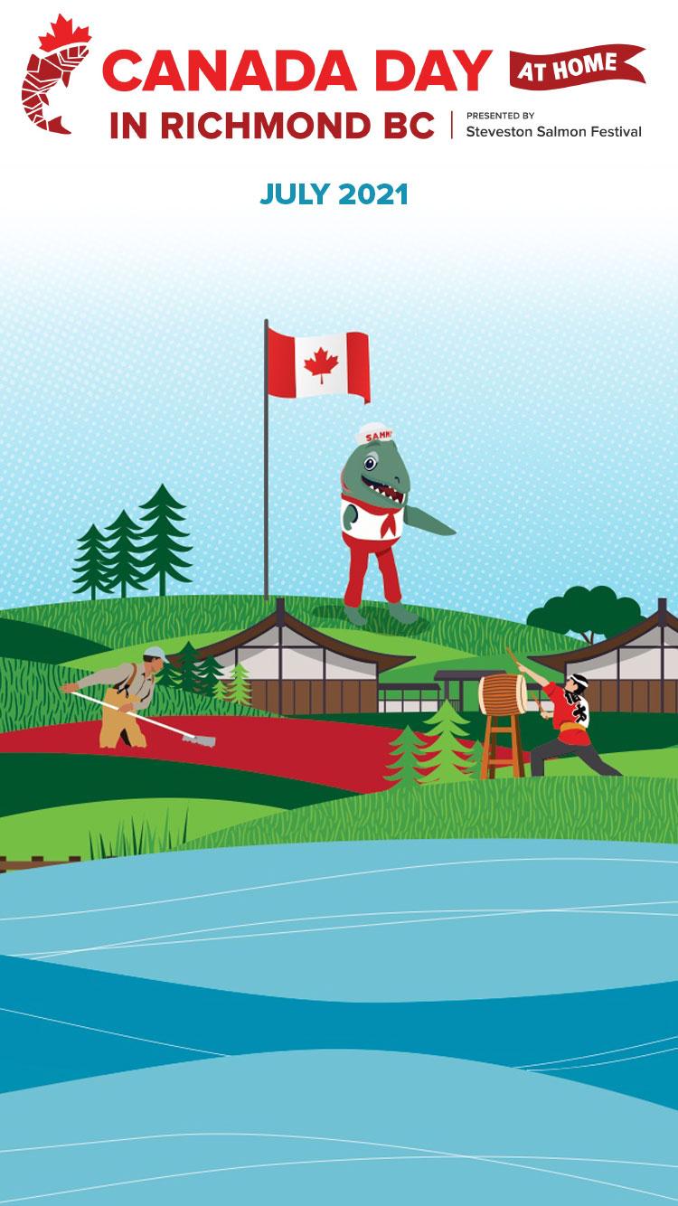 Richmond Canada Day in Steveston